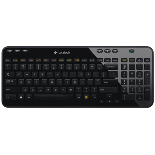 Logitech Wireless Keyboard (K360) - Black
