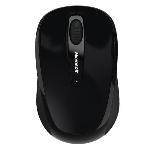 Souris Mobile 3500 sans fil de Microsoft - Noir
