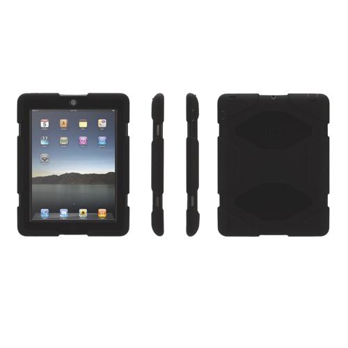 Étui Survivor de Griffin pour iPad 2/ iPad (3e gén.)/ iPad (4e gén.) - Noir