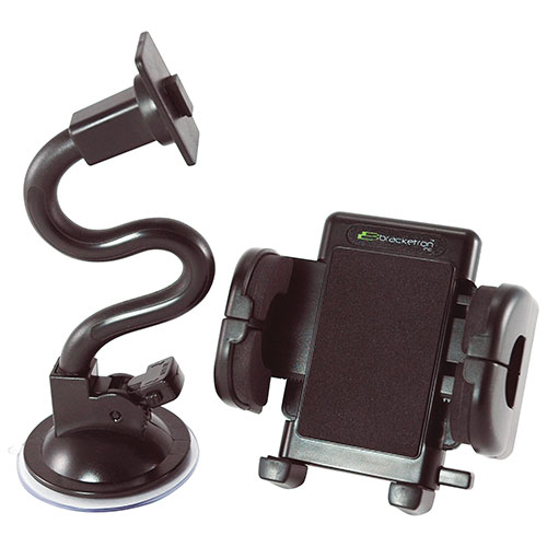 Bracketron Grip-iT Universal Mobile Device Windshield Mount (PHW-203-BL)