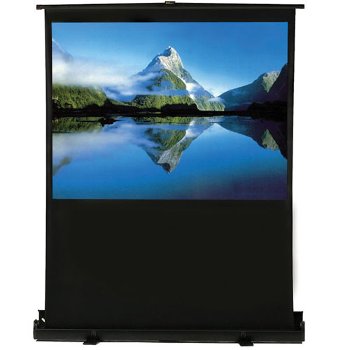 "EluneVision Pneumatic 60"" Portable Air-Lift Screen (EV-AL-60-1.2-4:3)"