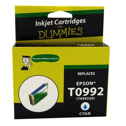 Ink For Dummies Epson T099 Cyan Ink (DE-T0992)