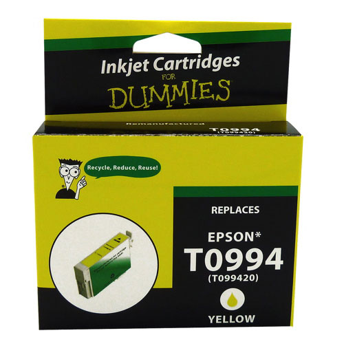 Ink For Dummies Epson T099 Yellow Ink (DE-T0994)