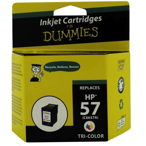 Cartouche d'encre tricolore HP 57 d'Ink For Dummies (DH-57)
