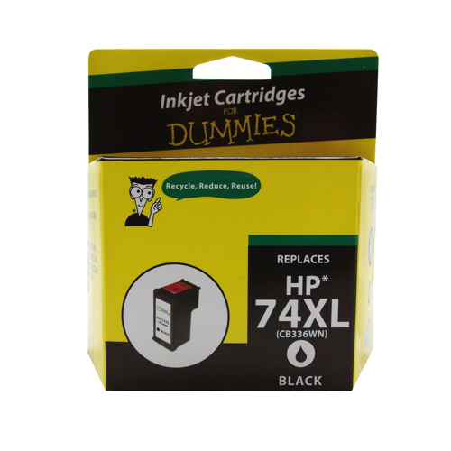 Ink For Dummies HP 74XL Black Ink (DH-74XL)