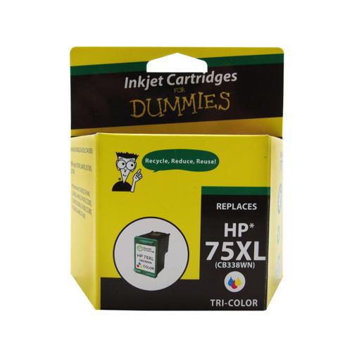 Ink For Dummies HP 75XL Tri-Colour Ink (DH-75XL)