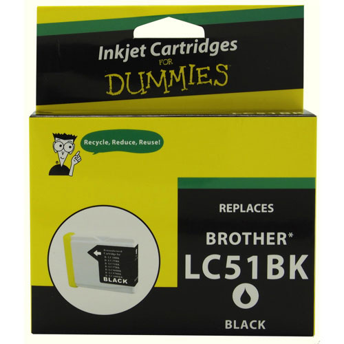 Ink For Dummies Brother Black Ink (DB-LC51BK)