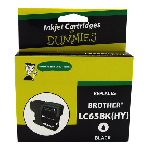Ink For Dummies Brother Black Ink (DB-LC65BK)