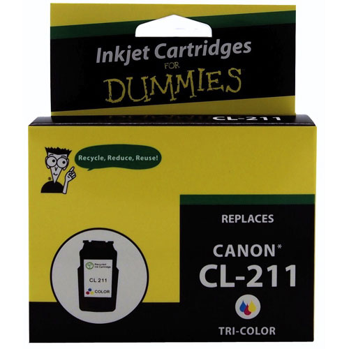 Ink For Dummies Canon Tri-Colour Ink (DC-CL211CL)