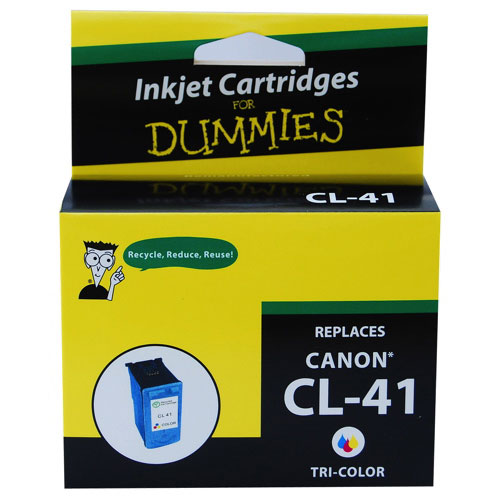 Ink For Dummies Canon Tri-Colour Ink (DC-CL41 CL)