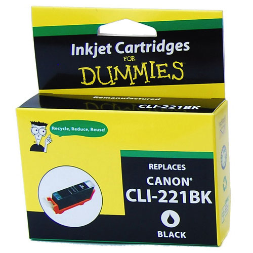 Ink For Dummies Canon Black Ink (DC-CLI221BK)