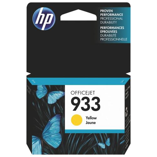 Cartouche d'encre jaune 933 de HP (CN060AC140)