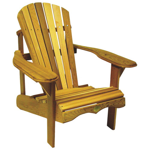 Bear Chair Cedar Adirondack Chair Kit   Red Cedar : Outdoor Chairs   Best  Buy Canada
