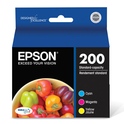 Epson DURABrite T200 Colour Ink (T200520-S) - 3 Pack