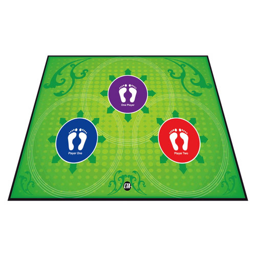 CTA Digital Anti-Slip Gaming Mat for Kinect