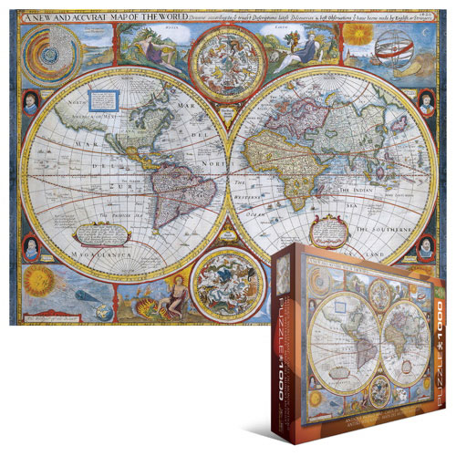 Eurographics new and accurate map of the world jigsaw puzzle 1000 eurographics new and accurate map of the world jigsaw puzzle 1000 pieces online only gumiabroncs Gallery