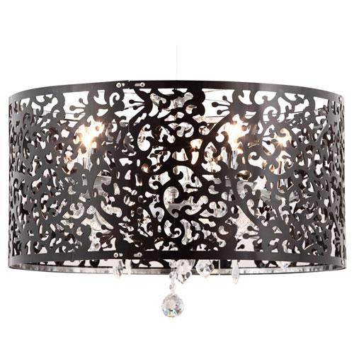 Zuo Modern Nebula Ceiling Lamp - Black