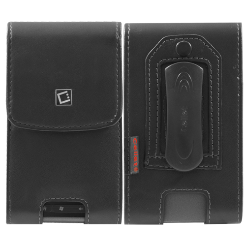 Cellet Noble HTC EVO/ Thunderbolt Leather Case (F38766) - Black