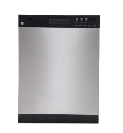 "GE 24"" 55 dB Tall Tub Built-In Dishwasher with Stainless Steel Tub (GDWF460VSS) - Stainless Steel"