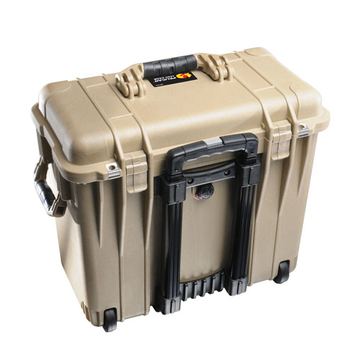 Pelican 1400 Camera Case With Foam - Desert Tan