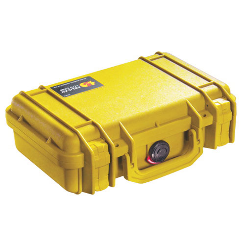 Pelican 1170 Camera Case With Foam - Yellow