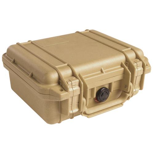 Pelican 1200 Camera Case With Foam - Desert Tan