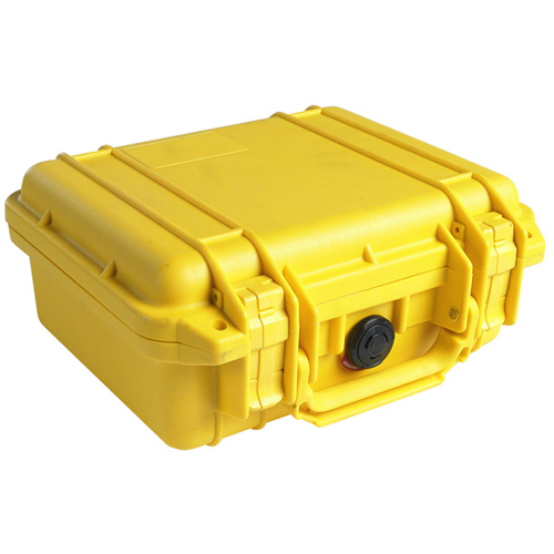 Pelican 1200 Camera Case No Foam - Yellow