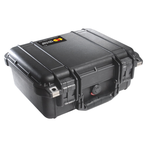 Pelican 1400 Camera Case No Foam - Black