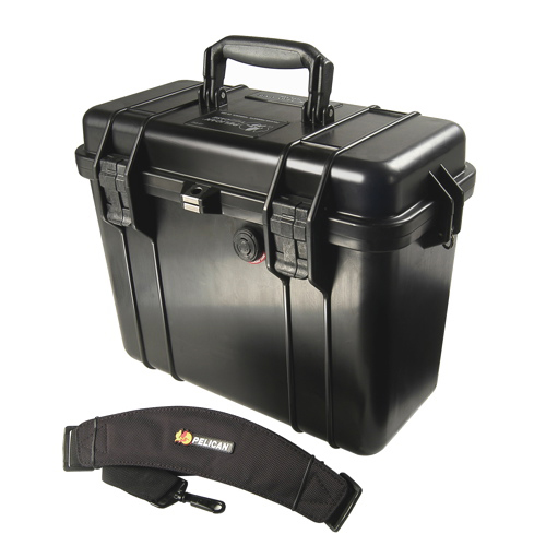 Pelican 1430 Camera Case No Foam - Black
