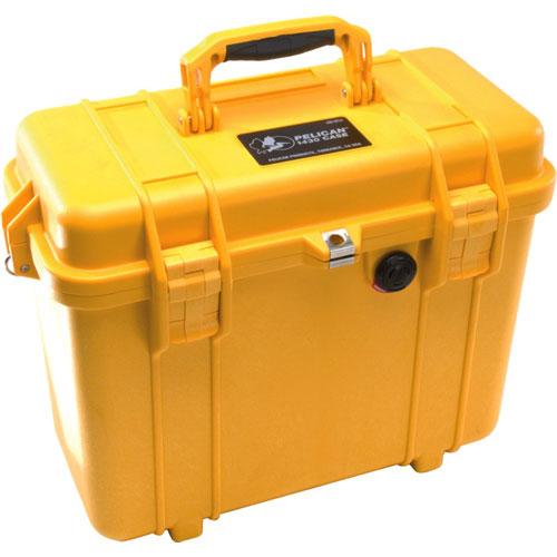 Pelican 1430 Camera Case No Foam - Yellow