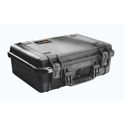 Pelican 1504 Case with Utility Divider - Black