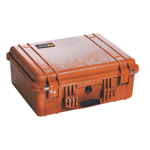 Pelican 1550 Case with Foam - Orange