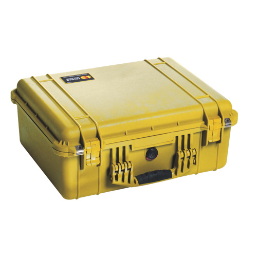 Pelican 1550 Case No Foam - Yellow
