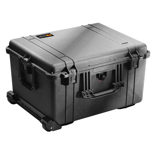Pelican 1624 Case with Utility Divider - Black