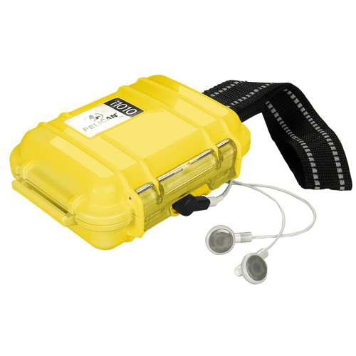 Pelican MP3 Player Micro Case - Yellow