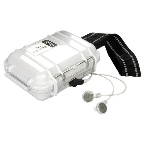 Pelican MP3 Player Micro Case - White