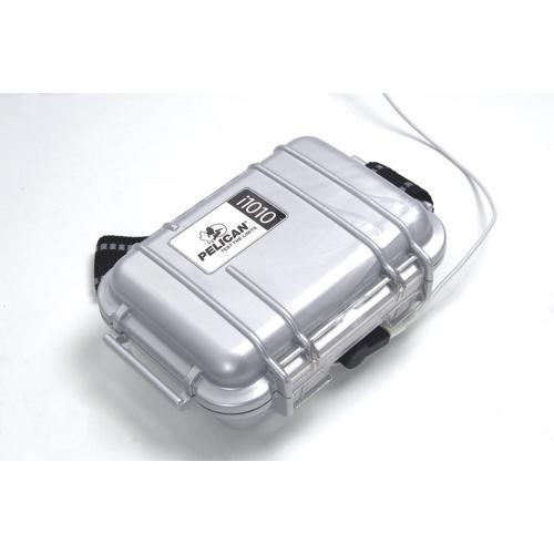 Pelican MP3 Player Micro Case - Silver