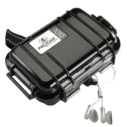 Pelican MP3 Player Micro Case - Black