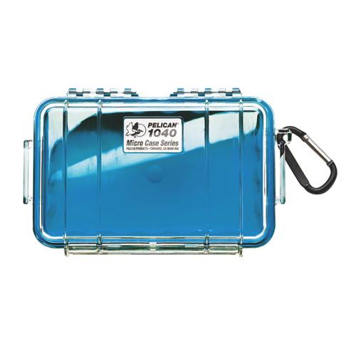 Pelican Micro Case 1040 - Clear Blue