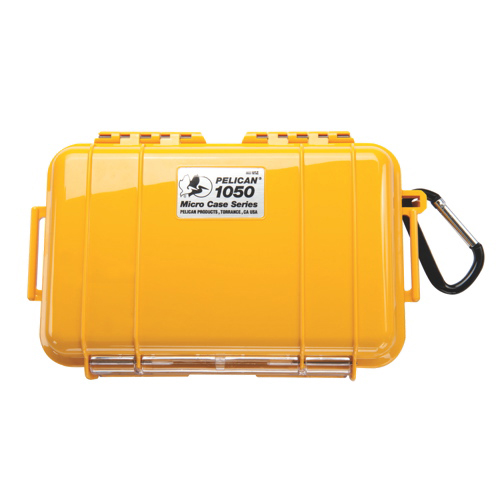 Pelican Micro Case 1050 - Yellow