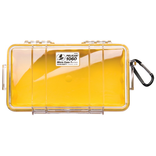 Pelican Micro Case 1060 - Clear Yellow