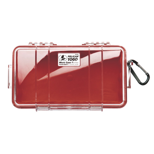 Pelican Micro Case 1060 - Clear Red