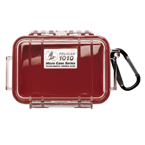 Pelican Micro Case 1010 - Clear Red