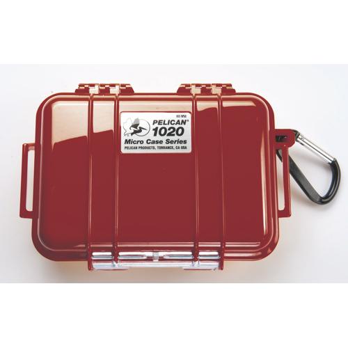 Étui Micro de Pelican (1020) - Rouge