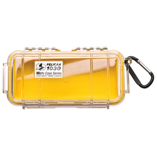 Pelican Micro Case 1030 - Clear Yellow