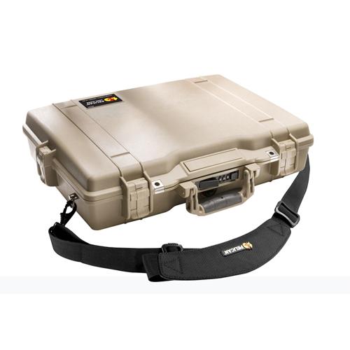 Étui pour ordinateur portatif de 17 po de Pelican - Sable du désert