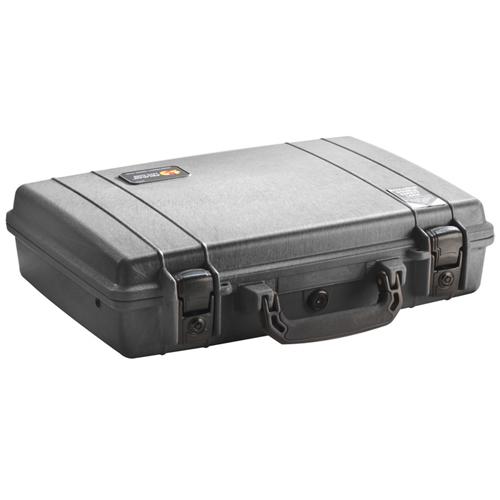 Pelican Laptop Case with Foam - Black