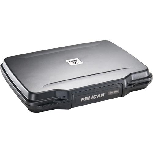 Étui avec mousse pour ordinateur portatif de 10,1 po de Pelican - Noir