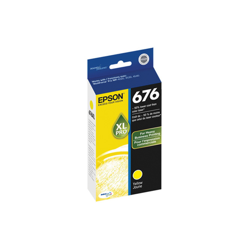 Epson 676XL Yellow Ink (T676XL420-S)