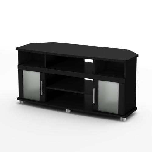 "South Shore City Life Corner 40"" TV Stand - Black"